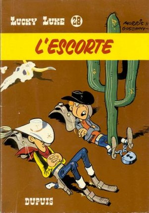 Lucky Luke - L'escorte