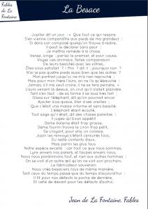 [Fable - pdf] La besace