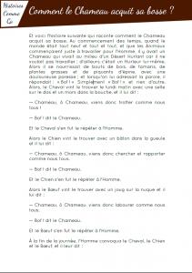 [Roman - pdf] Comment le chameau acquit sa bosse ?