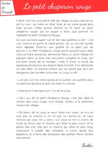 [Roman - pdf] Le petit chaperon rouge