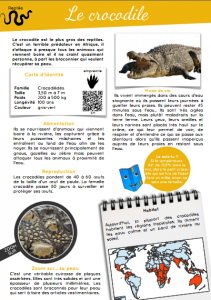 [Documentaire - pdf] Le crocodile