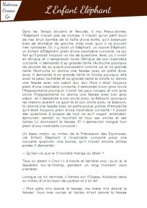 [Roman - pdf] L'enfant d'éléphant