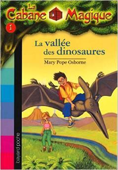 Roman la cabane magique tome 1 la vall e des dinosaures rallye lectur - La douchette magique ...