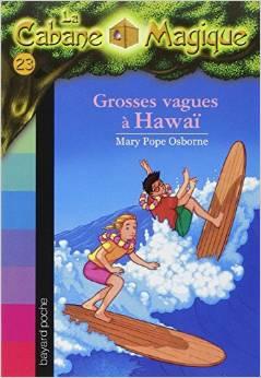 La Cabane Magique, Tome 23 Grosses vagues à Hawaï