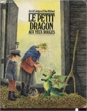 Le petit dragon aux yeux rouges