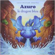 Azuro le dragon bleu.
