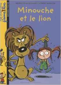 Minouche et le lion