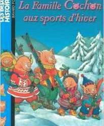 La famille Cochon aux sports d'hiver