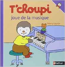 T'choupi joue de la musique