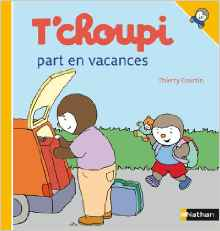 T'choupi part en vacnaces