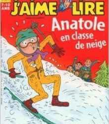 Anatole en classe de neige