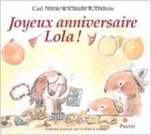 Joyeux anniversaire Lola !