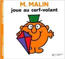 Monsieur Malin joue au cerf-volant