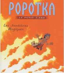 Popotka le petit sioux - les jambières magiques
