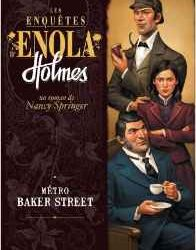 métro baker street- les enquêtes d'Enola Homes