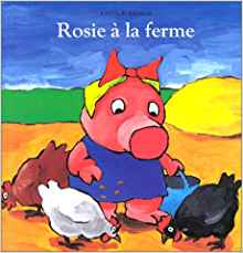 Rosie à la ferme