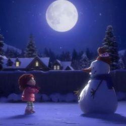 lily et le bonhomme de neige