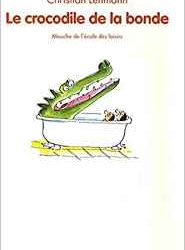 Le crocodile de la bonde