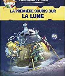 La première souris sur la lune