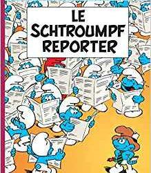 Le schtroumpf reporter 22