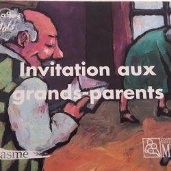 invitation aux grands parents